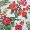 Paw パウ ポーランド ペーパーナプキン ランチサイズ ハワイアンフラワー Hawaiian Flowers バラ売り2枚1セット SDL-090700 デコパージュ ドリパージュ