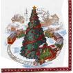 1枚バラ売りペーパーナプキン Villeroy&Boch ビレロイ&ボッホ ドイツ クリスマストレイン CHRISTMAS TRAIN IN TOWN 765300 デコパージュ ドリパージュ