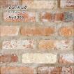 レンガ  壁用 アンティークレンガでDIY ヴィンテージ ブリック タイル【アンテウォール 1309 バラ販売】