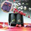 【エコファーマー】伊勢玉露・高級煎茶50g×2黒缶入詰合せ一越織柄紫風呂敷ギフト