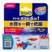 テトラテスト 6in1 試験紙(淡水用)水質検査試験紙 関東当日便