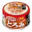 いなば CIAO(チャオ) とろみ 焼かつお ささみ カツオ節入り 80g 24缶入り 関東当日便