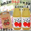 お中元 ギフト ジュース りんごジュース ストレート 信州 山の上のりんごじゅうす1,000ml×2本 送料無料 ちこり村 内祝