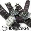 時計 ベルト バンド HDT ニューメラル・カモフラージュ NATOタイプ 20mm22mm 腕時計(メ)