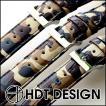 腕時計 ベルト バンド HDT Alligator Denim Print アリゲーター カモフラージュ 20mm22mm 腕時計(宅)