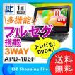 ポータブルDVDプレーヤー arwin アーウィン 10.1インチ フルセグ搭載 APD-106F 液晶テレビ テレビ TV DVDプレイヤー