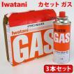 イワタニ(IWATANI) カセットコンロ用 カセットボンベ/カセットガス CB-250-OR (3本セット)