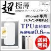 iPhone8 4.7インチ 超極薄ハードケース クリア iphone iPhone8 4.7インチ ケース カバー ハードケース 極薄 クリアケース メール便送料無料