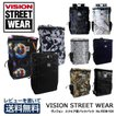 VISION STREET WEAR ヴィジョンストリートウェア ビジョン スクエア型バックパック リュックサック VSGN-504 PC対応 レビューを書いて送料無料