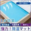 吸湿 除湿マット 抗菌 センサー付き 防臭 防ダニ なめらか マットレス 湿気 布団 シート