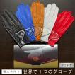 ゴルフグローブ 手袋 ギフト 名入れ 本革 オーダーメイド ゴルフグローブ お仕立てセット プラチナギフト アスキュー