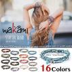 Wakami ワカミ ブレスレット Life Is…Wrap Bracelet