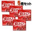 KRAFT Jell-o クラフト ジェロ ゼラチンミックス(粉ゼラチン) ストロベリー 5個セット /お菓子/粉ゼリー/アメリカ製/