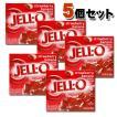 KRAFT Jell-o クラフト ジェロ ゼラチンミックス(粉ゼラチン) ストロベリーバナナ 5個セット /お菓子/粉ゼリー/アメリカ製/