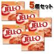 KRAFT Jell-o クラフト ジェロ ゼラチンミックス(粉ゼラチン) ピーチ 5個セット /お菓子/粉ゼリー/アメリカ製/