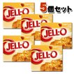 KRAFT Jell-o クラフト ジェロ ゼラチンミックス(粉ゼラチン) アプリコット 5個セット /お菓子/粉ゼリー/アメリカ製/