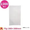 MICS化学 ベストナイロン SBN規格袋 SB2030 0.075×200×300 2000枚入(送料無料、代引不可)