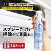 エアコン 洗剤 エアコン洗浄スプレー エアコンクリーナー 徹底洗浄Ag消臭+ 420ml 2本セット 2台分 レジェンド松下 テレビで紹介 日本製