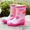 レインシューズ キッズ 子供用 レインブーツ 女の子 雨靴 防水靴 雨具 おしゃれ 裏起毛 あったか 梅雨 雨対策 サイドゴア 可愛い 防滑GYX-AL40
