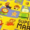 生地 スーパーマリオ 布 キャラクター 綿100% オックス 男の子 子供 入園入学 準備 メール便可 布地 生地屋