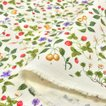 花柄 生地 布 綿 おしゃれ フルーツガーデン ツイルプリント 布地 コットンこばやし ボタニカル 植物/手芸
