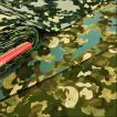 迷彩柄 生地 布 海のいきもの 綿麻キャンバス 布地 コットン リネン 手芸 コットンこばやし
