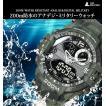腕時計 メンズ 200m防水 デジタル アナログ ミリタリーウォッチ スポーツ
