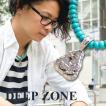 ネックレス ペンダント トライアングル Deep Zone ハウライトターコイズ 国内製作 ピューター プレゼント ギフト