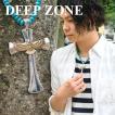 ネックレス ペンダント イーグルクロス Deep Zone ハウライトターコイズ 国内製作 ピューター プレゼント ギフト