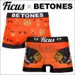 ビトーンズ ボクサーパンツ フリーサイズ メンズ BETONES ×FICUS CHIPEWA