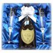 ドンペリ&名入れ ペアシャンパングラスAセット(ドンペリニヨン 白 2006年 結婚祝い ギフト 還暦祝い 男性 女性 母 贈り物 名前入れ ワイン)