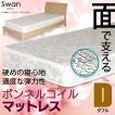 マットレス ダブル ボンネルコイル ボンネルコイルマットレス ベッド用 ダブルマット ダブルサイズ 寝具