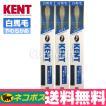 KENT 歯ブラシ コンパクト[白馬毛やわらかめ] ◆3本[KNT-1132]【DM便送料無料】