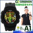 グリーンオン ザ・ゴルフウォッチ A1 10周年記念モデル 腕時計型 GPSゴルフナビ GREENON THE GOLF WATCH あすつく