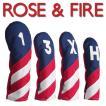 ローズアンドファイアー ヘッドカバーフリーダム (DR用、3番、FW用、UT用) ROSE&FIRE
