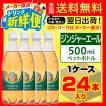 カナダドライ ジンジャーエール 500ml 24本入1ケース/炭酸飲料 PET ペットボトル コカ・コーラ社/メーカー直送 送料無料