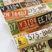 生地・布・入園入学 ≪ Number Plate - マスタード ≫ オックス/幅110cm KOKKA/コッカ 【10cm単位販売】