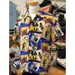 ケオニオブハワイ  KEONI OF HAWAII アロハシャツ 『人生は楽園』 by TERUMI YOSHIDA SS38199-125 BLUE  SUN SURF サンサーフ