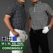 ポロシャツ メンズ ゴルフ 半袖 大きいサイズ ゴルフウェア ボタンダウン ゴルフポロシャツ 夏 ゴルフトップス CG-SP541