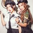 ハロウィン コスプレ ポリス コスチューム 衣装 婦人警官  レディース 仮装 計5点フルセット