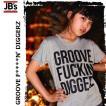 HIPHOPダンス 衣装 U-KI BOMB CRAZY SHIZUKAが手掛けるブランドGROOVE DIGGERZ Tシャツ キッズ メンズ トップス