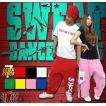 ヒップホップ ダンスパンツ 衣装 スウェット ブランド スポーツ ズンバウェア レディース メンズ