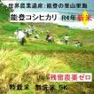 コシヒカリ 無洗米 新米30年産 特別栽培 棚田米(食味値86) 5K 世界農業遺産 能登里山の米