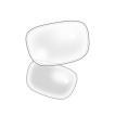 【オプション】ネコメガネ度付き超薄型クリアレンズ 1.60非球面 コンフル160AS 2枚1組