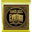 Ernie Ball #2558 Everlast Coated 011-052 80/20 Bronze Light ...