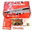 あすつく ブレンボ正規品 brembo レーシング New CNCリアキャリパー 削り出し2pc 84mmピッチ パッド付き120.A441.10 送料無料