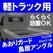 あおりガード(ゲートプロテクター)/鳥居アングル