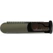 防犯 窓の防犯 換気ロック スライドロック カチカチプレートタイプ ダークブラウン サッシ用簡易補助錠