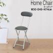【6脚セット】ホームチェア 背もたれ付き パイプイス 会議椅子 折りたたみチェア