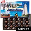 ハワイ お土産 HAWAIIAN VILLAGE(ハワイアンビレッジ) マカダミアナッツチョコ15粒入12箱セット チョコレート
